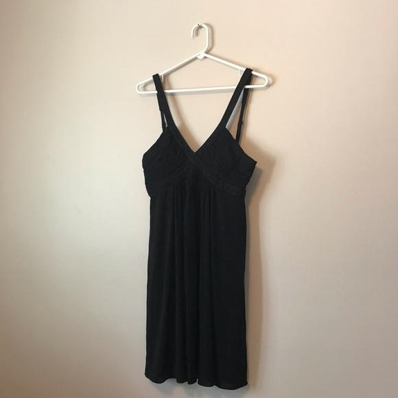 BCBGMaxAzria Dresses & Skirts - BCBG sexy black v-Neck dresss